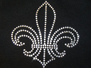 Rhinestone Saints Logo